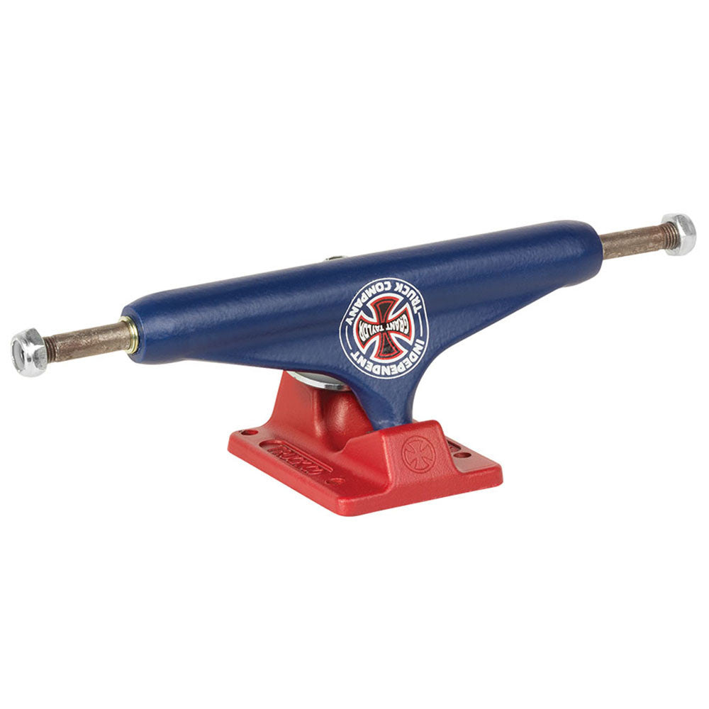 Independent 159 Stage 11 Grant Taylor BTG GC Hollow - Blue/Red - 156mm - Skateboard Trucks (Set of 2)