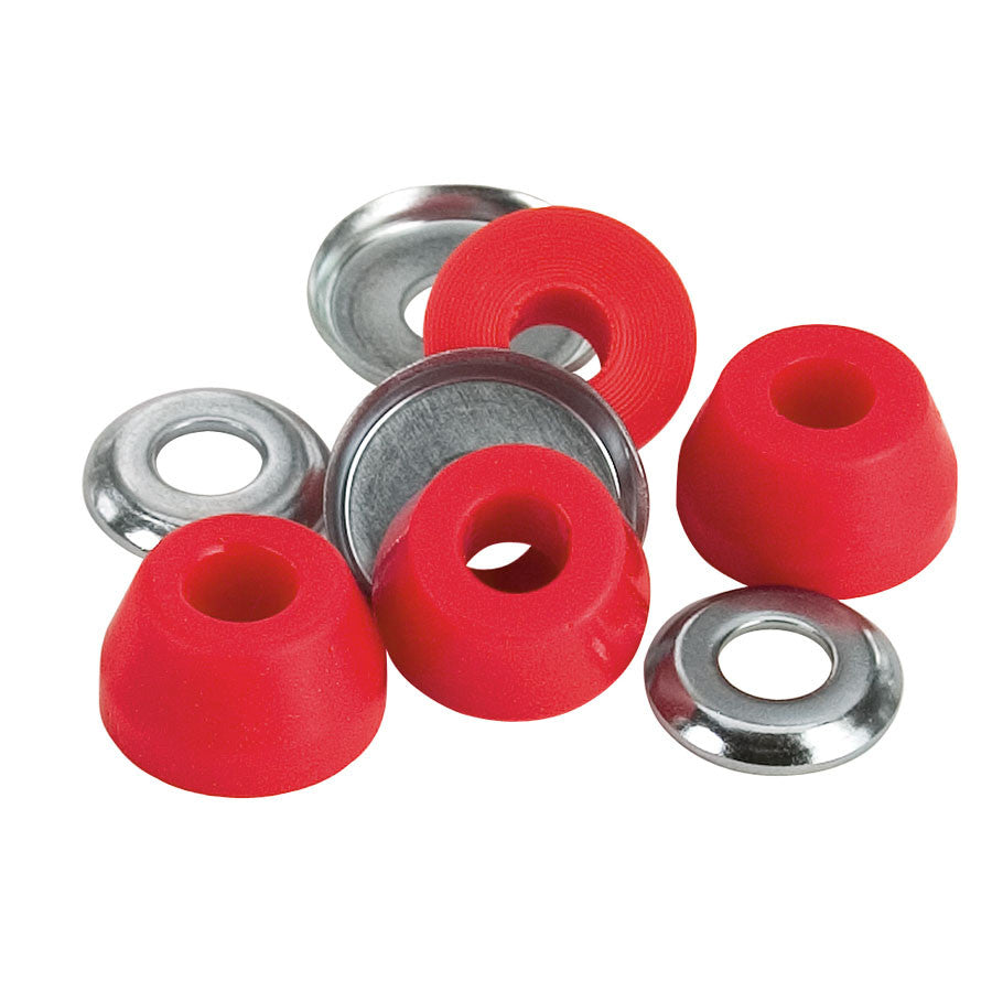 Independent Genuine Parts Standard Cushions - Red - Soft 90a - Skateboard Bushings (4 PC)
