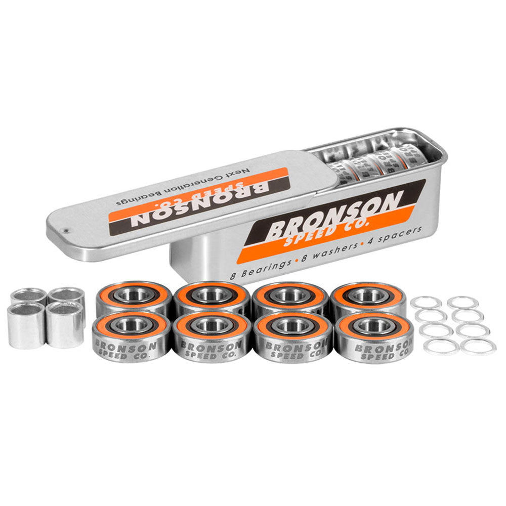 Bronson Speed Co. G3 - Skateboard Bearings (8 PC)