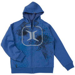 Invert 2011 Halftone Hooded Sweatshirt ZE - Blue