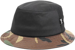 Cliche Camo Bucket Hat - Black/Camo - Men's Hat