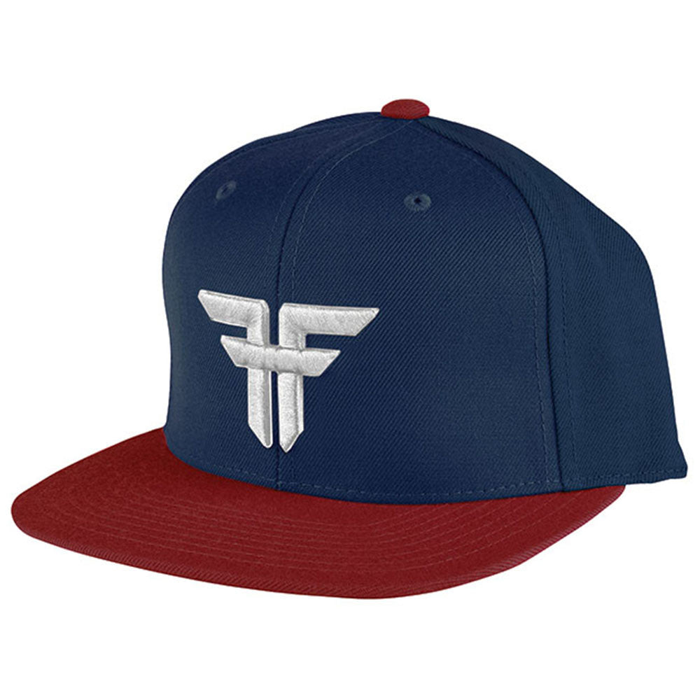 Fallen Trademark Snapback - Navy/Red/White - Men's Hat