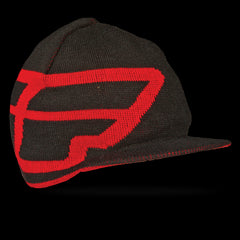 Fly Racing Reverse-A-Bill Beanie - Black - Mens Hat