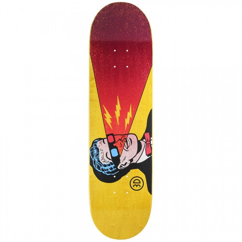 3D X-Ray Specs - Red/Yellow - 8.37 - Skateboard Deck