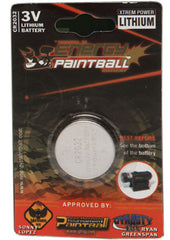 Energy Paintball 3V CR2032 Lithium Battery - Single