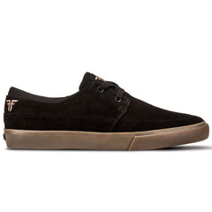 Fallen Roach - Black/Gum - Men's Shoes
