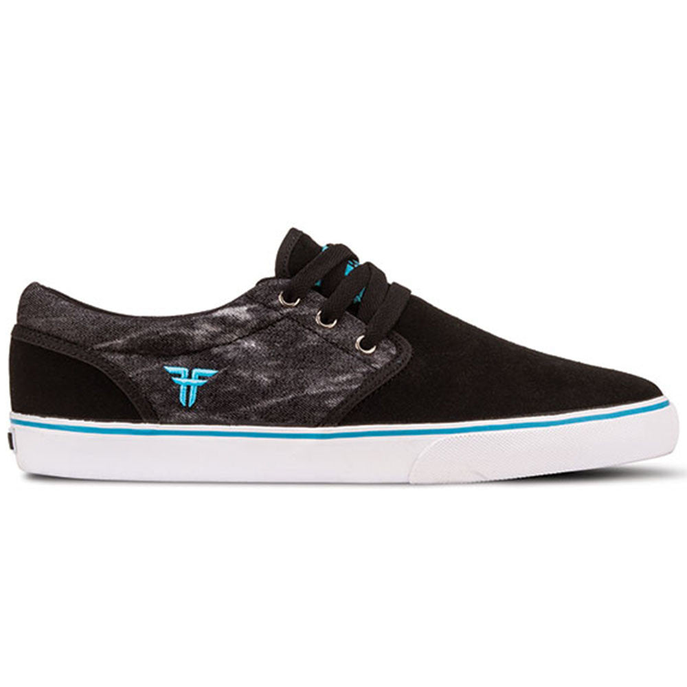 Fallen The Easy - Black/Acid/Island Blue - Men's Shoes