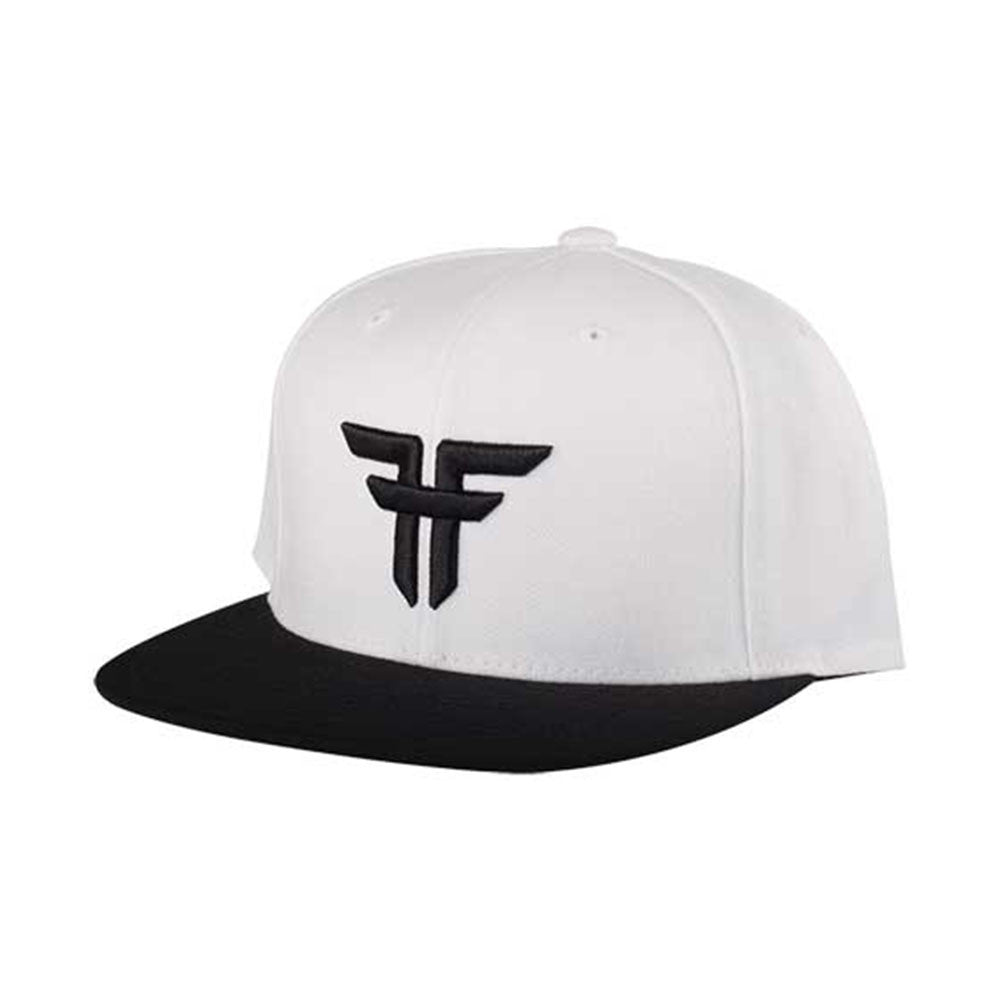 Fallen Trademark Starter Cap Snapback - White/Black - Men's Hat