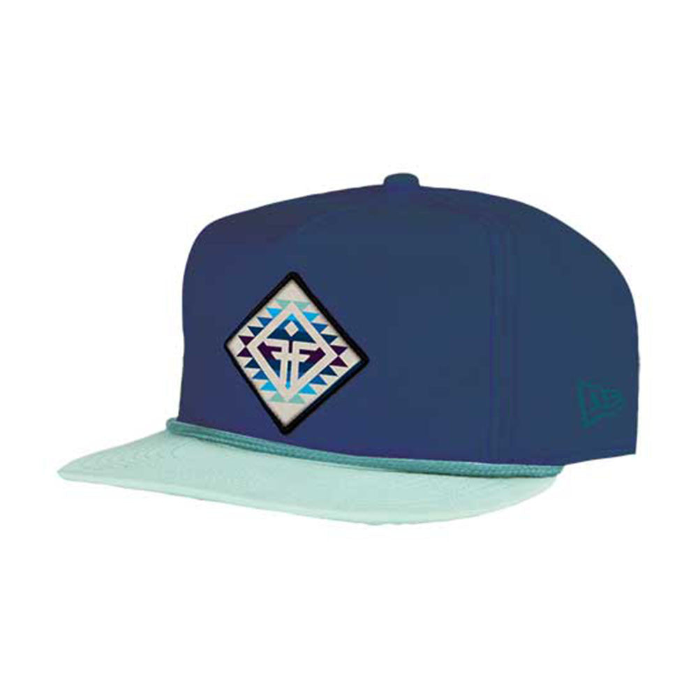 Fallen Yuma NE Snapback - Midnight/Afterburn Blue - Men's Hat