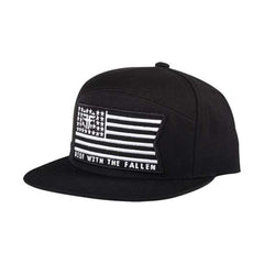 Fallen Allegiance Snapback - Black/White - Men's Hat