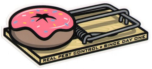 Real Pest Control Medium - Sticker