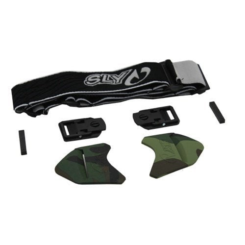Sly Profit Replacement Goggle Straps - Woodland Camo