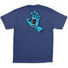 Santa Cruz Screaming Hand Regular S/S - Navy - Mens T-Shirt