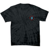 Santa Cruz Screaming Hand Regular S/S - Spider Black - Mens T-Shirt
