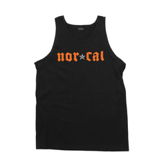Nor Cal Medieval Regular Fit - Black/Orange - Men's Tank Top