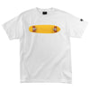 Santa Cruz OGSC Skateboard Regular S/S - White - Mens T-Shirt