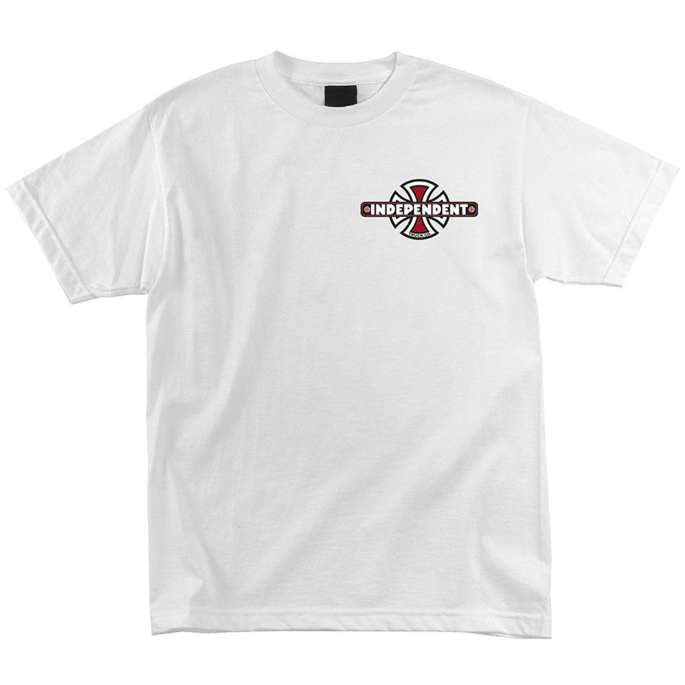 Independent Vintage B/C Chest Regular S/S - White - Mens T-Shirt