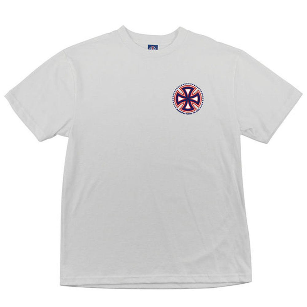 Independent MFG USA Regular S/S - White - Men's T-Shirt