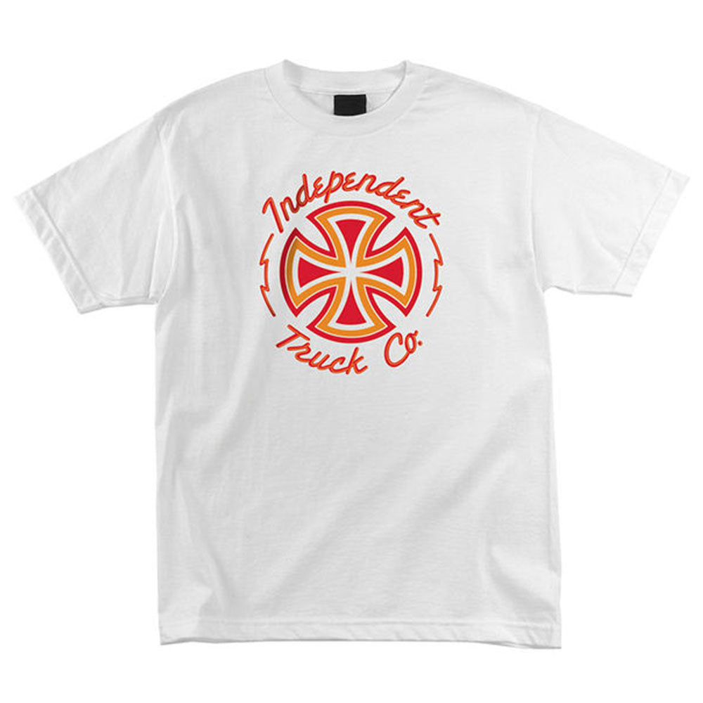 Independent Voltage Regular S/S - White - Men's T-Shirt