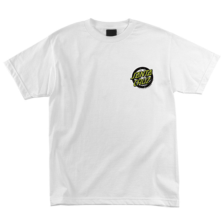 Santa Cruz Rob Smasher Regular S/S - White - Men's T-Shirt
