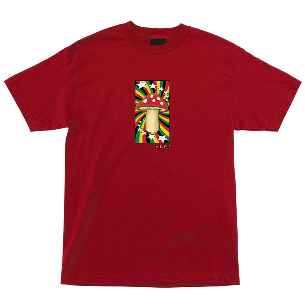 Flip Rasta Shroom Regular S/S - Cardinal - Men's Shirt