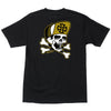 Independent Dressen Skull & Bones Regular S/S - Black - Mens T-Shirt