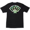Creature Babes Playing Card Regular S/S - Black - Men's T-Shirt