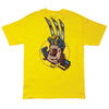 Santa Cruz Marvel Wolverine Hand Regular S/S - Yellow - Mens T-Shirt
