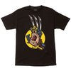 Santa Cruz Marvel Wolverine Hand Regular S/S Youth - Black - Mens T-Shirt