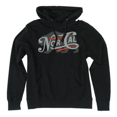 Nor Cal Generations Pullover Hooded L/S - Black - Mens Sweatshirt