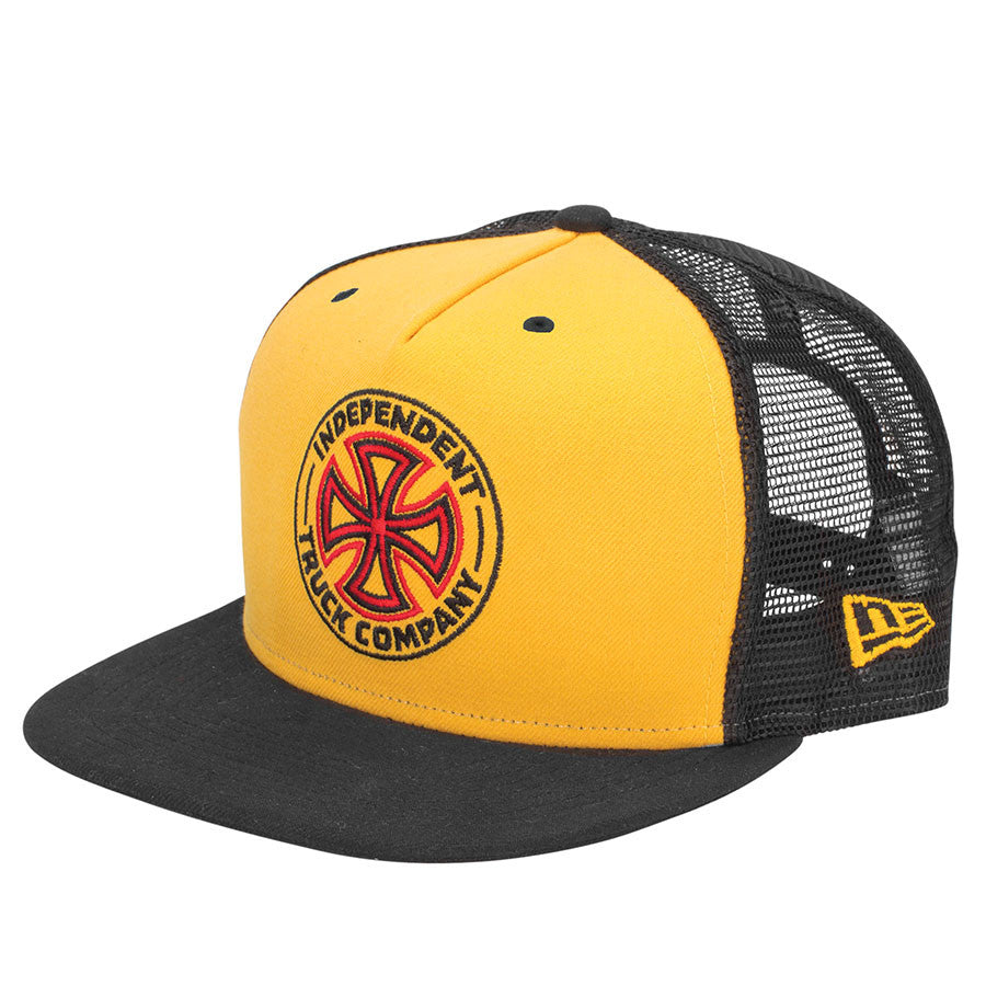 Independent O.G.T.C. New Era Trucker 9 Fifty - Gold/Black - Men's Hat