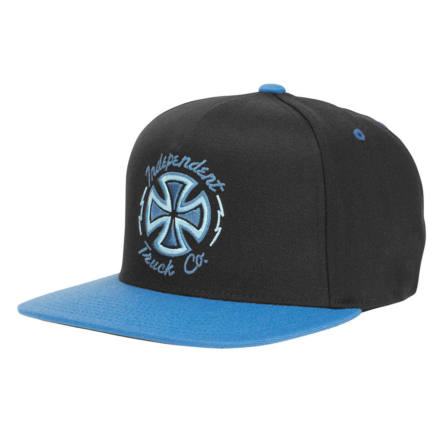 Independent Voltage FlexFit One Ten Snapback - Black/Blue - Men's Hat