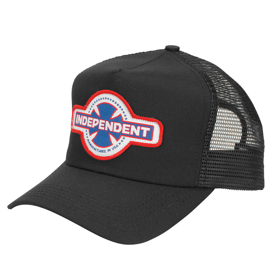 Independent MFG USA Trucker Mesh - Black - Men's Hat