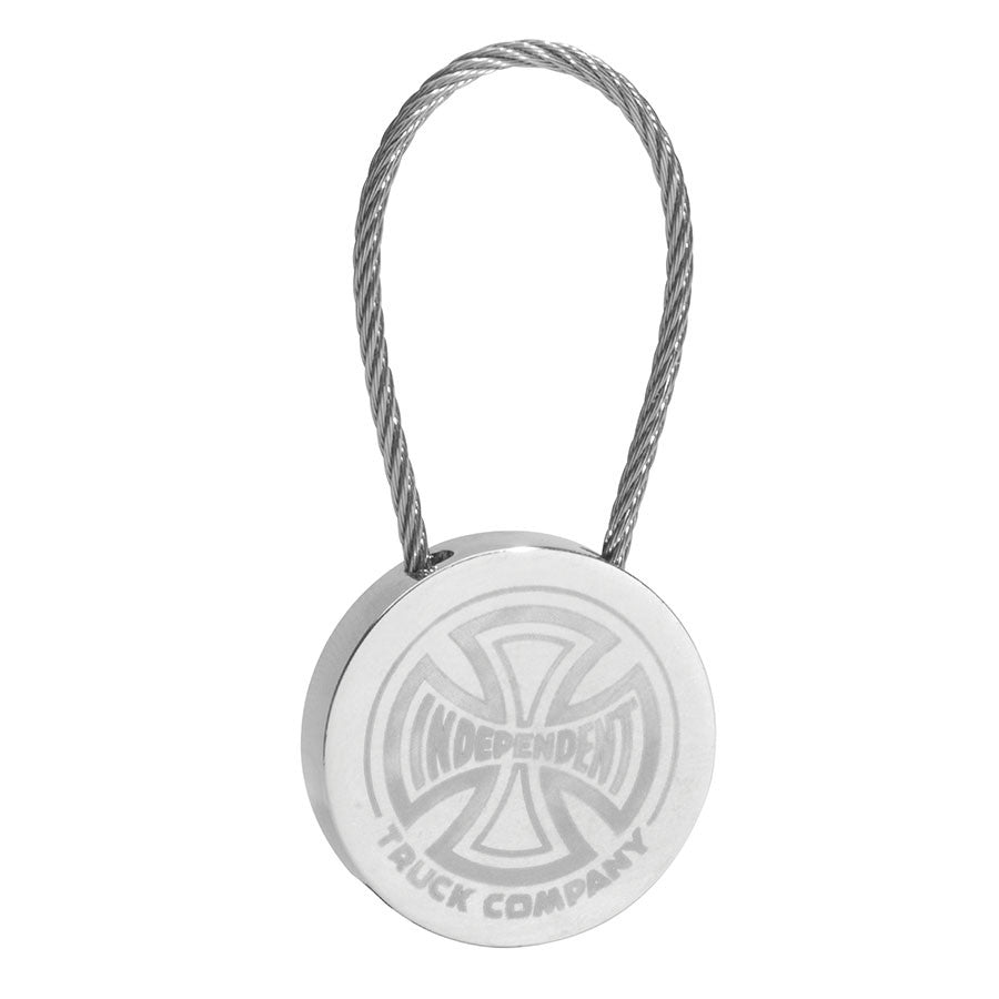 Independent Cable Key Chain - Silver