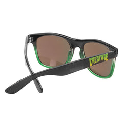 Creature Chronicopolis Wayfarer - Folding - OS Unisex - Black/Green - Sunglasses