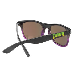 Creature Chronicopolis Wayfarer - Folding - OS Unisex - Black/Purple - Sunglasses