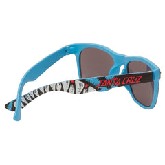 Santa Cruz Retro Shark Wayfarer - Blue - OS Unisex - Sunglasses
