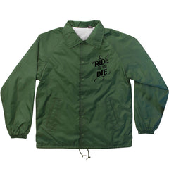 Creature Ride Til You Die Coach Windbreaker - Hunter - Men's Jacket