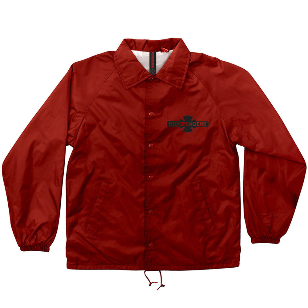 Independent OG Pattern Coach Windbreaker - Red - Men's Jacket