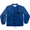 Santa Cruz Hand Coach Hooded Windbreaker - Royal Blue - Men's Jacket