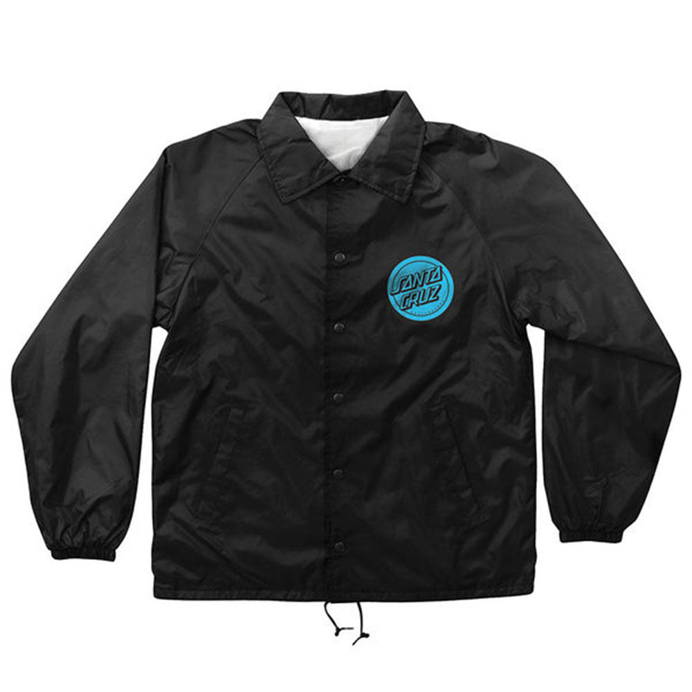 Santa Cruz Hand Coach Windbreaker - Black - Men's Jacket