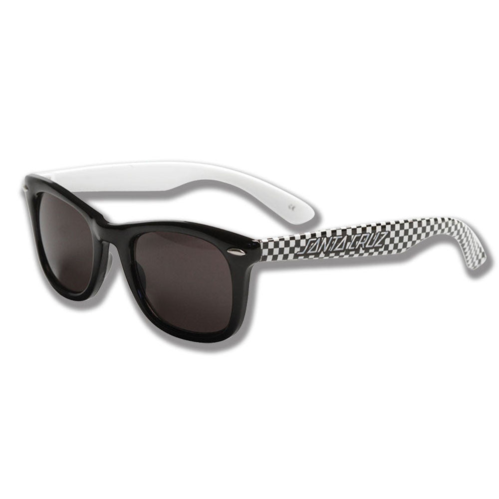 Santa Cruz Check Strip O/S - Black/White - Sunglasses