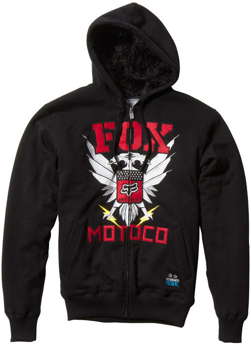 Fox Covert Ops Sasquatch Hoodie - Black - Mens Sweatshirt
