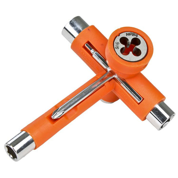 Reflex Utilitool Skate Tool - Orange/Chrome - Skateboard Tool