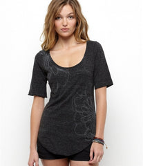 Roxy Fizzled Tee - Black - Womens Shirt