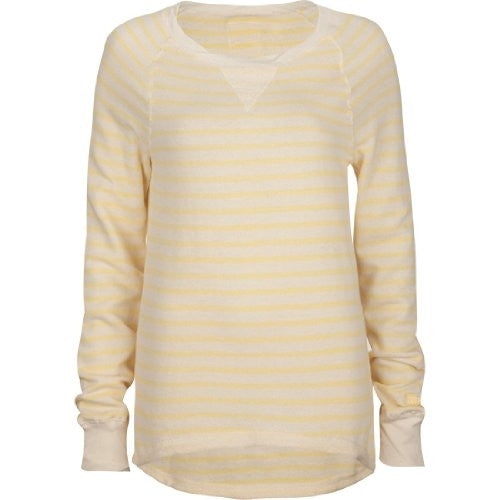Roxy Beach Daize Pullover - Yellow - Womens Sweatshirt