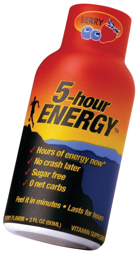 5-Hour Energy Shot - Orange