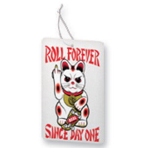 Real Lucky Kitty Air Freshener - Skateboard Accessory