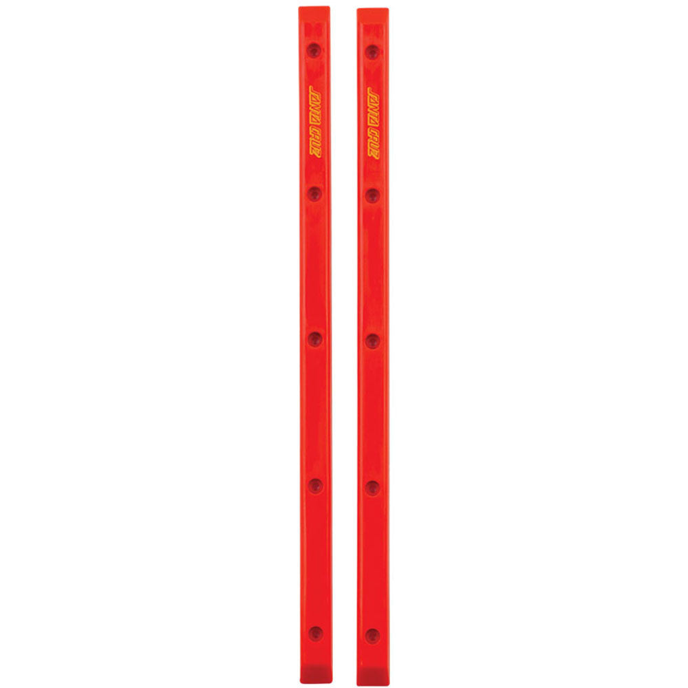 Santa Cruz Slimline Rails - Red - Skateboard Rails