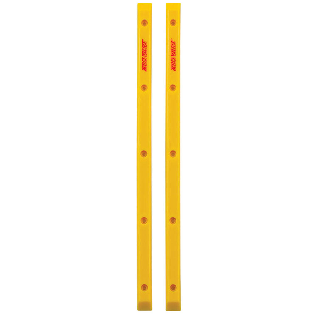 Santa Cruz Slimline Rails - Yellow - Skateboard Rails